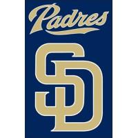 AFSDP Padres 44x28 Applique Banner