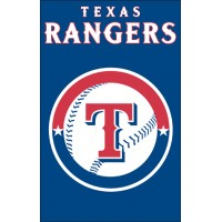 AFTEX Rangers 44x28 Applique Banner