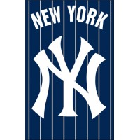 AFNYY Yankees 44x28 Applique Banner