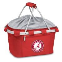 University of Alabama Printed Metro Basket Picnic Basket Red