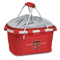 Texas Tech Printed Metro Basket Picnic Basket Red