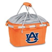 Auburn University Printed Metro Basket Picnic Basket Orange