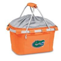 University of Florida Printed Metro Basket Picnic Basket Orange