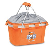 University of Illinois Printed Metro Basket Picnic Basket Orange
