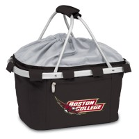 Boston College Printed Metro Basket Picnic Basket Black