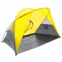 Picnic Time Cove Sun Shelter Yellow