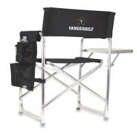 Vanderbilt University Sports Chair - Black Embroidered