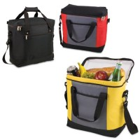 Picnic Time Montero - Yellow Gray and Black Cooler Tote