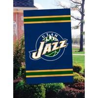 AFJAZ Utah Jazz 44x28 Applique Banner