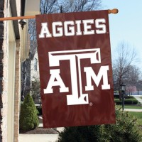 AFTAM Texas A & M 44x28 Applique Banner