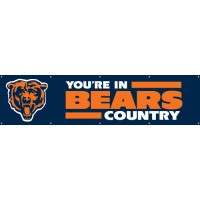 BCH Bears Giant 8-Foot X 2-Foot Nylon Banner