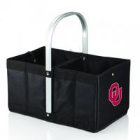 University of Oklahoma Printed Metro Basket Picnic Basket Black