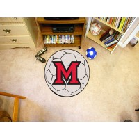 Miami of Ohio Soccer Ball Rug