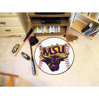 Minnesota State University - Mankato Baseball Rug