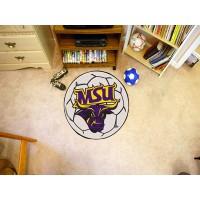 Minnesota State University - Mankato Soccer Ball Rug