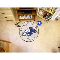 University of Akron Soccer Ball Rug