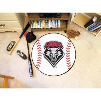 University of New Mexico Baseball Rug