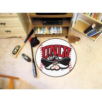 UNLV University of Nevada Las Vegas Baseball Rug