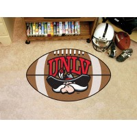 UNLV University of Nevada Las Vegas Football Rug