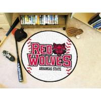 Arkansas State University Baseball Rug