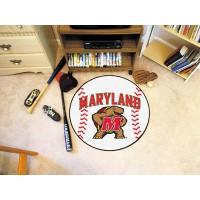 University of Maryland Baseball Rug