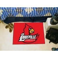 University of Louisville Starter Rug