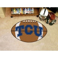 Texas Christian University  Football Rug