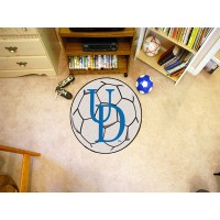 University of Delaware Soccer Ball Rug