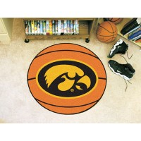 University of Iowa Basketball Rug