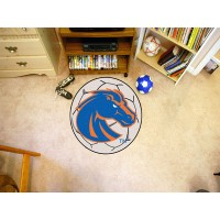 Boise State University Soccer Ball Rug