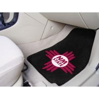 New Mexico State University 2 Piece Front Car Mats