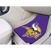 NFL - Minnesota Vikings 2 Piece Front Car Mats