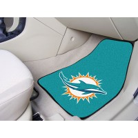 NFL - Miami Dolphins 2 Piece Front Car Mats