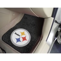 NFL - Pittsburgh Steelers 2 Piece Front Car Mats