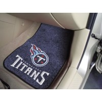 NFL - Tennessee Titans 2 Piece Front Car Mats