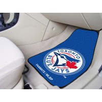 MLB - Toronto Blue Jays 2 Piece Front Car Mats