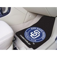 MLB - San Diego Padres 2 Piece Front Car Mats