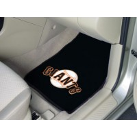 MLB - San Francisco Giants 2 Piece Front Car Mats