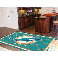 NFL - Miami Dolphins  5 x 8 Rug
