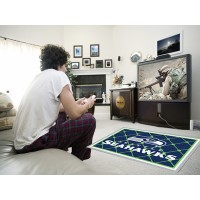 NFL - Seattle Seahawks 4 x 6 Rug