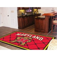 University of Maryland  5 x 8 Rug