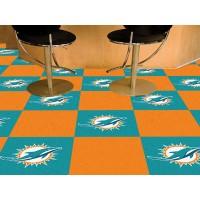 NFL - Miami Dolphins Carpet Tiles
