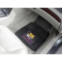Louisiana State University Heavy Duty 2-Piece Vinyl Car Mats