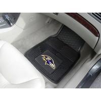 NFL - Baltimore Ravens Heavy Duty 2-Piece Vinyl Car Mats