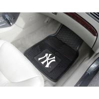MLB - New York Yankees Heavy Duty 2-Piece Vinyl Car Mats