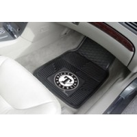 MLB - Texas Rangers Heavy Duty 2-Piece Vinyl Car Mats