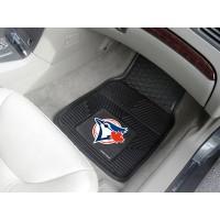 MLB - Toronto Blue Jays Heavy Duty 2-Piece Vinyl Car Mats