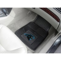 NFL - Carolina Panthers Heavy Duty 2-Piece Vinyl Car Mats