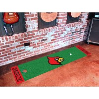 University of Louisville Golf Putting Green Mat