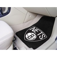 NBA - Brooklyn Nets 2 Piece Front Car Mats